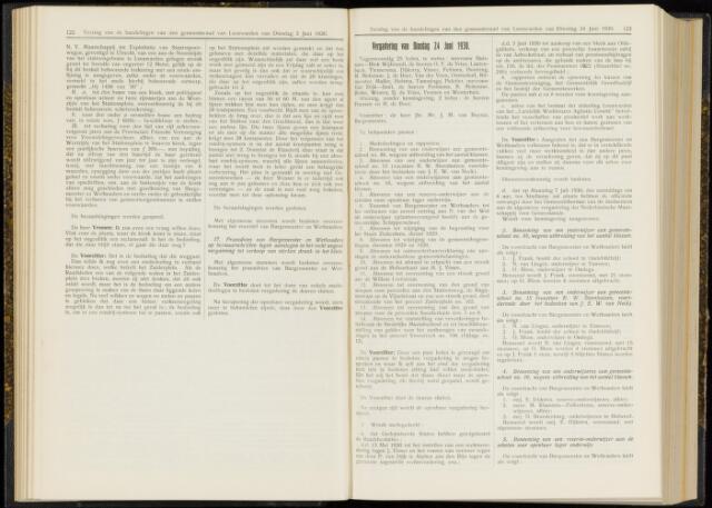 Raadsverslagen van de gemeente Leeuwarden, 1865-2007 (Notulen) 1930-06-24