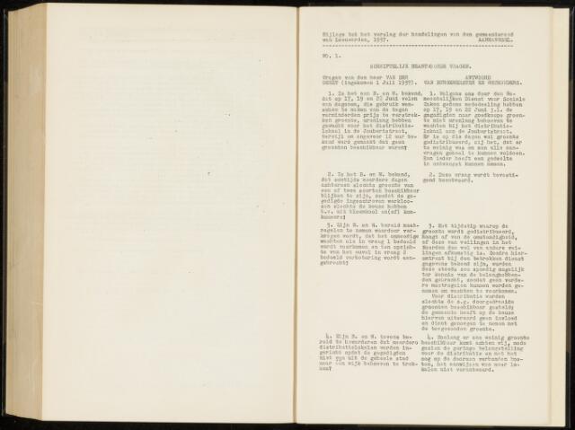 Raadsverslagen van de gemeente Leeuwarden, 1865-2007 (Schriftelijke vragen) 1937