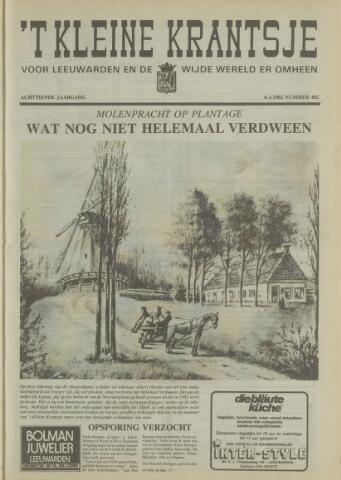 't Kleine Krantsje, 1964-1997 1982-02-06