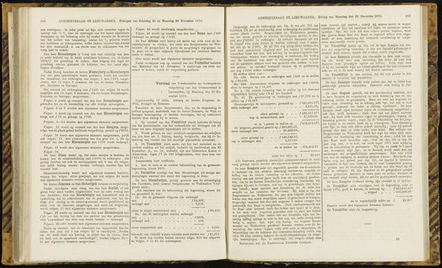 Raadsverslagen van de gemeente Leeuwarden, 1865-2007 (Notulen) 1870-11-28