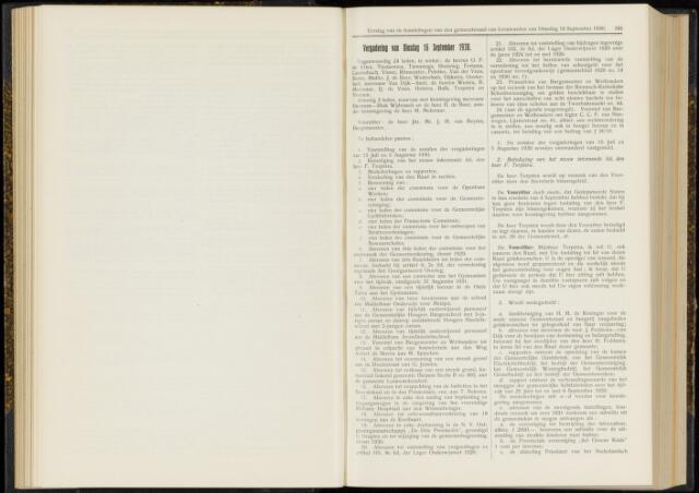 Raadsverslagen van de gemeente Leeuwarden, 1865-2007 (Notulen) 1930-09-16