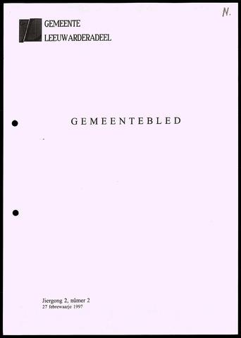 Notulen van de gemeenteraad van Leeuwarderadeel 1997-02-27
