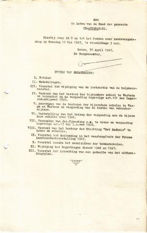raadsverslagen Idaarderadeel 1935-1983 1947-05-12