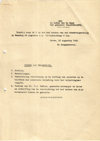 raadsverslagen Idaarderadeel 1935-1983 1949-08-29
