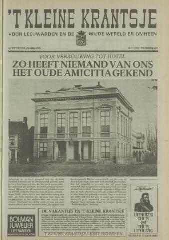 't Kleine Krantsje, 1964-1997 1982-07-10