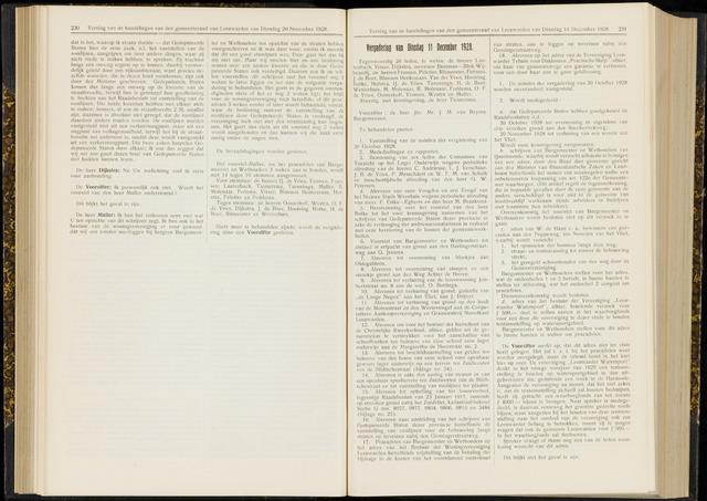 Raadsverslagen van de gemeente Leeuwarden, 1865-2007 (Notulen) 1928-12-11