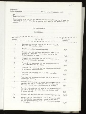 Notulen van de gemeenteraad van Leeuwarderadeel 1974-12-20