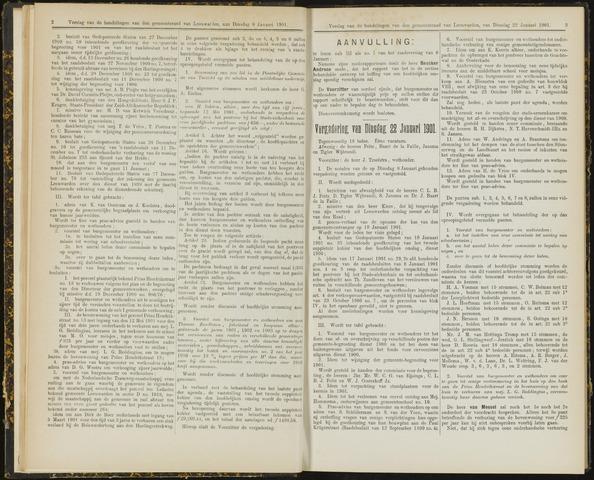 Raadsverslagen van de gemeente Leeuwarden, 1865-2007 (Notulen) 1901-01-22