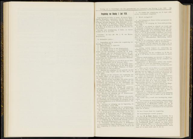 Raadsverslagen van de gemeente Leeuwarden, 1865-2007 (Notulen) 1930-06-03