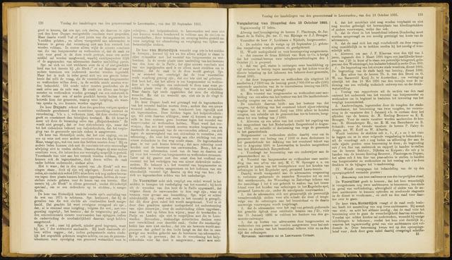 Raadsverslagen van de gemeente Leeuwarden, 1865-2007 (Notulen) 1885-10-13