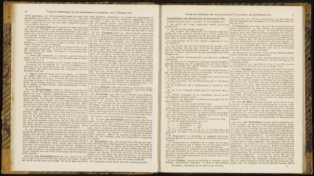 Raadsverslagen van de gemeente Leeuwarden, 1865-2007 (Notulen) 1875-02-18