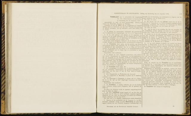 Raadsverslagen van de gemeente Leeuwarden, 1865-2007 (Notulen) 1870-08-25