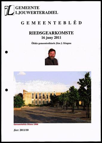 Notulen van de gemeenteraad van Leeuwarderadeel 2011-06-16