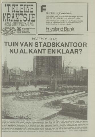 't Kleine Krantsje, 1964-1997 1992-04-01