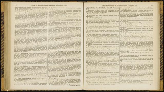 Raadsverslagen van de gemeente Leeuwarden, 1865-2007 (Notulen) 1871-12-28