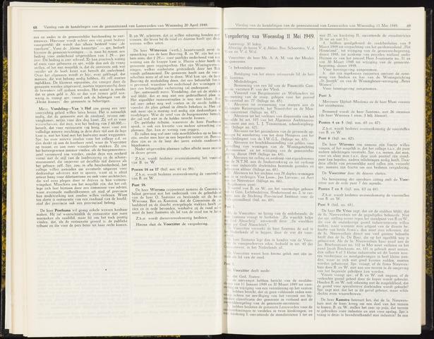 Raadsverslagen van de gemeente Leeuwarden, 1865-2007 (Notulen) 1949-05-11