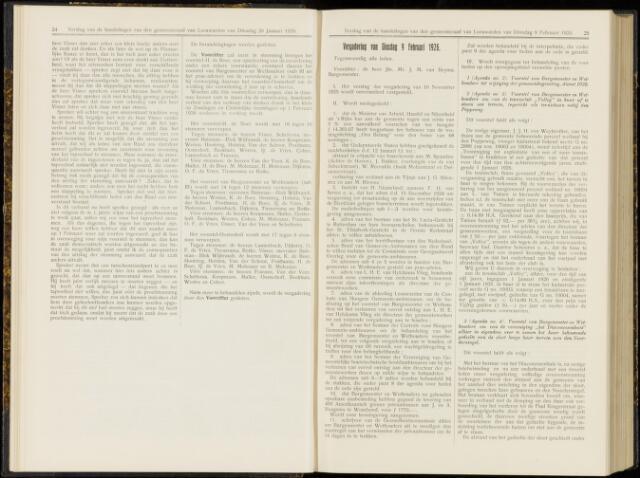Raadsverslagen van de gemeente Leeuwarden, 1865-2007 (Notulen) 1926-02-09