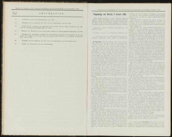 Raadsverslagen van de gemeente Leeuwarden, 1865-2007 (Notulen) 1906