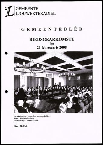 Notulen van de gemeenteraad van Leeuwarderadeel 2008-02-21