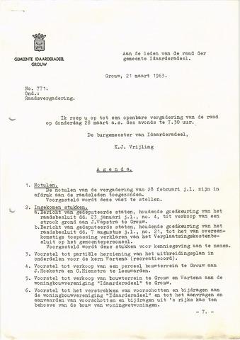 raadsverslagen Idaarderadeel 1935-1983 1963-03-28