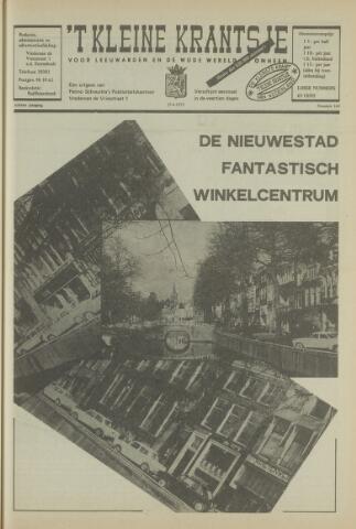 't Kleine Krantsje, 1964-1997 1972-05-27