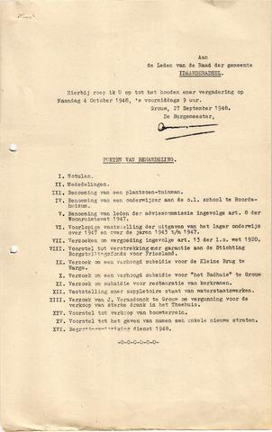 raadsverslagen Idaarderadeel 1935-1983 1948-10-04