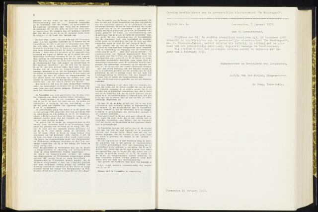 Raadsverslagen van de gemeente Leeuwarden, 1865-2007 (Bijlagen) 1958-01-01