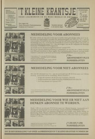 't Kleine Krantsje, 1964-1997 1973-10-05