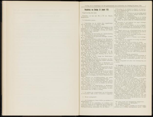 Raadsverslagen van de gemeente Leeuwarden, 1865-2007 (Notulen) 1931