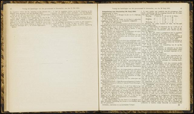 Raadsverslagen van de gemeente Leeuwarden, 1865-2007 (Notulen) 1883-06-28