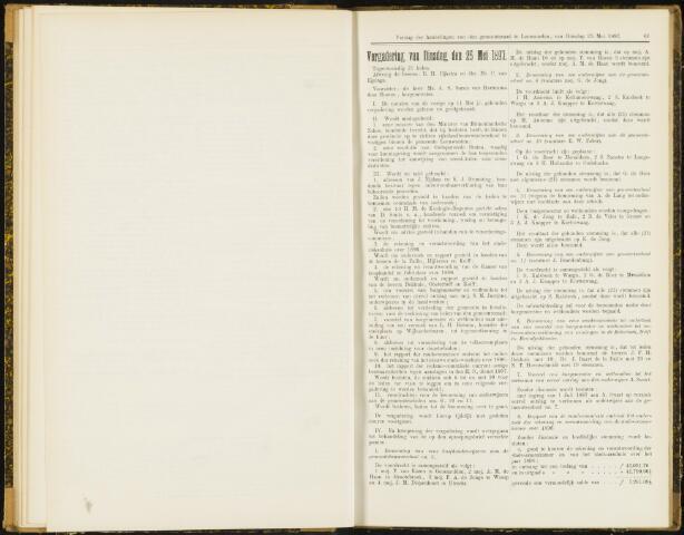 Raadsverslagen van de gemeente Leeuwarden, 1865-2007 (Notulen) 1897-05-25