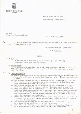raadsverslagen Idaarderadeel 1935-1983 1970-12-15