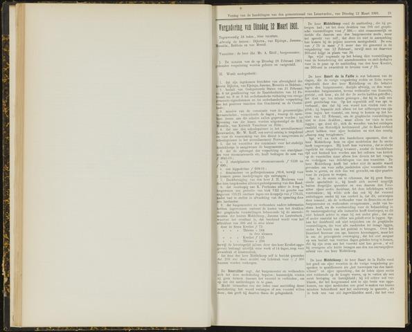 Raadsverslagen van de gemeente Leeuwarden, 1865-2007 (Notulen) 1901-03-12