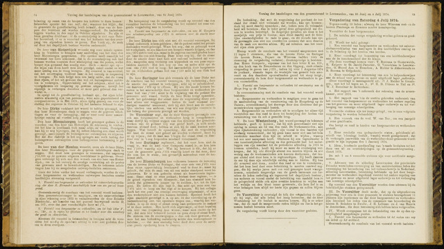 Raadsverslagen van de gemeente Leeuwarden, 1865-2007 (Notulen) 1874-07-04
