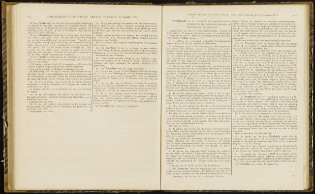 Raadsverslagen van de gemeente Leeuwarden, 1865-2007 (Notulen) 1868-08-27