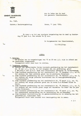 raadsverslagen Idaarderadeel 1935-1983 1964-06-18
