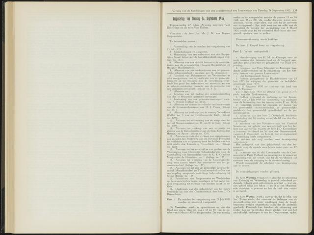 Raadsverslagen van de gemeente Leeuwarden, 1865-2007 (Notulen) 1935-09-24
