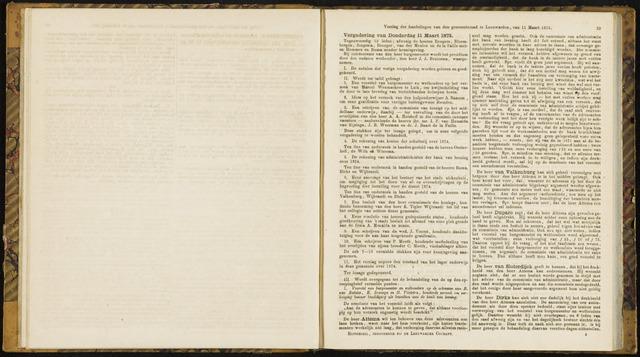 Raadsverslagen van de gemeente Leeuwarden, 1865-2007 (Notulen) 1875-03-11