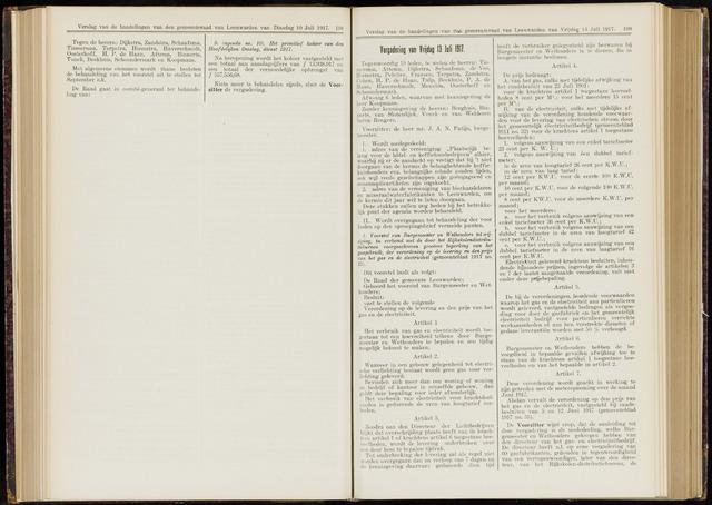 Raadsverslagen van de gemeente Leeuwarden, 1865-2007 (Notulen) 1917-07-13