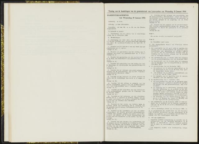Raadsverslagen van de gemeente Leeuwarden, 1865-2007 (Notulen) 1956
