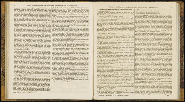 Raadsverslagen van de gemeente Leeuwarden, 1865-2007 (Notulen) 1875-09-02