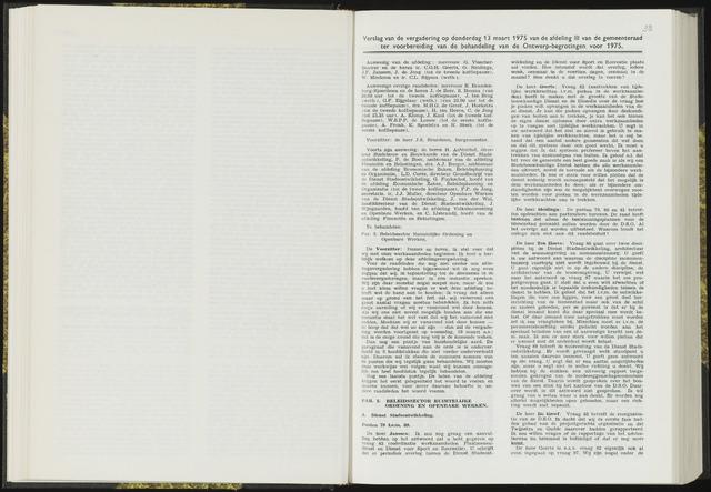 Raadsverslagen van de gemeente Leeuwarden, 1865-2007 (Notulen) 1975-03-13