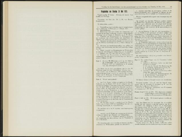 Raadsverslagen van de gemeente Leeuwarden, 1865-2007 (Notulen) 1935-05-28