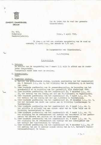 raadsverslagen Idaarderadeel 1935-1983 1966-04-13