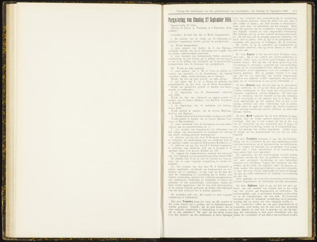 Raadsverslagen van de gemeente Leeuwarden, 1865-2007 (Notulen) 1898-09-27