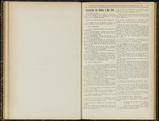 Raadsverslagen van de gemeente Leeuwarden, 1865-2007 (Notulen) 1900-05-08