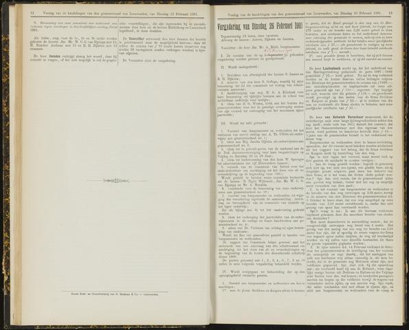 Raadsverslagen van de gemeente Leeuwarden, 1865-2007 (Notulen) 1901-02-26