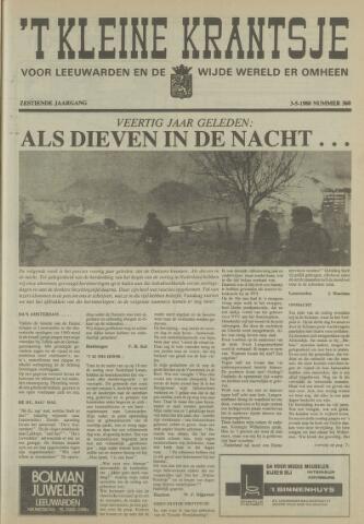 't Kleine Krantsje, 1964-1997 1980-05-03
