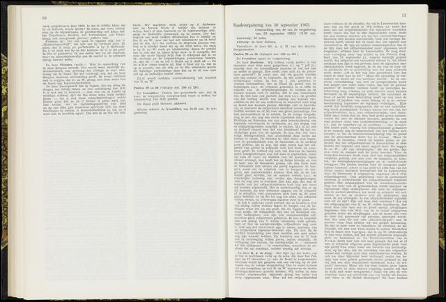 Raadsverslagen van de gemeente Leeuwarden, 1865-2007 (Notulen) 1965-09-30