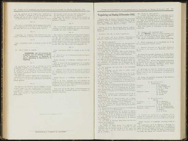 Raadsverslagen van de gemeente Leeuwarden, 1865-2007 (Notulen) 1903-12-22